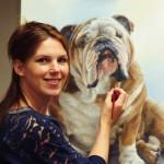 Marjolein Kruijt kunstenaar, wildlife kunst en huisdier portretten. Vogelschilderijen.