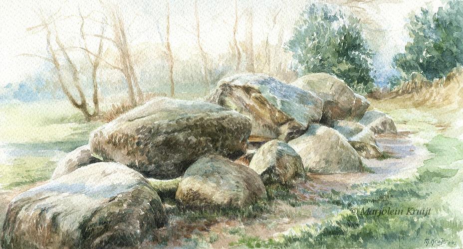 Landschappen Schilderijen Door Marjolein Kruijt