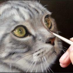 Marjolein Kruijt dieren portrettist