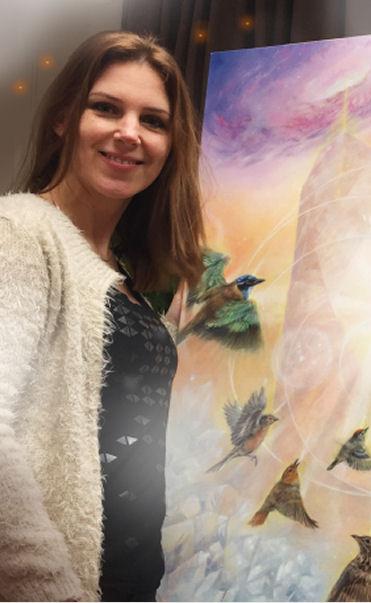 Marjolein Kruijt Visionary art & Animal art (dierenkunst)