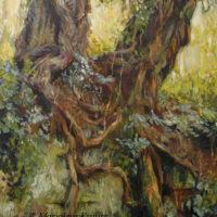 'Fairy trees' (2000), 90x120 cm, olieverf schilderij (NTK)