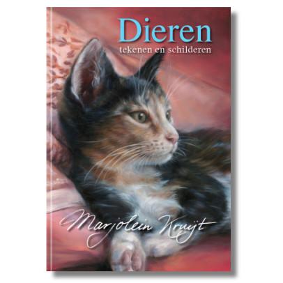 Boek dieren teken en schilderen met Marjolein Kruijt (deel 1)