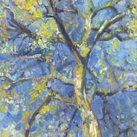 'Berk'-lente, 18x24 cm, olieverf schilderij (verkocht)