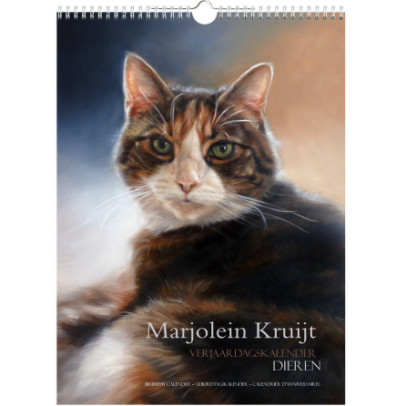 Verjaardagskalender dieren Marjolein Kruijt