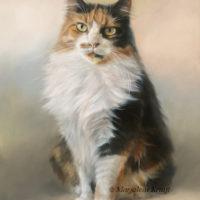 'Winnie', 30x40 cm, olieverf schilderij (verkocht/opdracht)