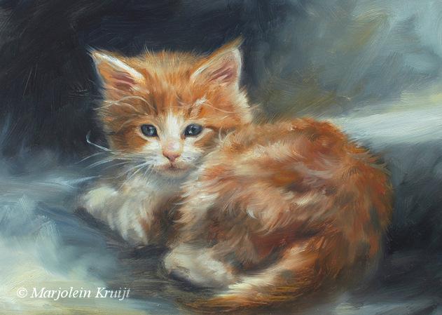 Dierportretten En Huisdieren Schilderijen In Opdracht