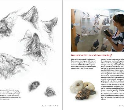 Boek dieren teken en schilderen met Marjolein Kruijt-preview3