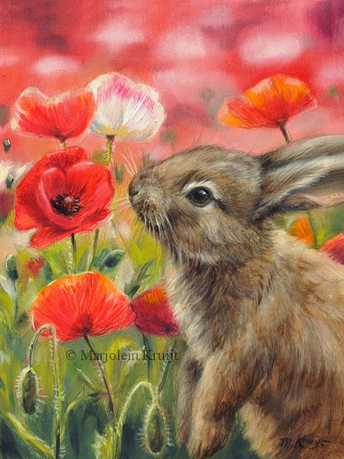 Wildlife Kunst Dieren Schilderijen Door Marjolein Kruijt