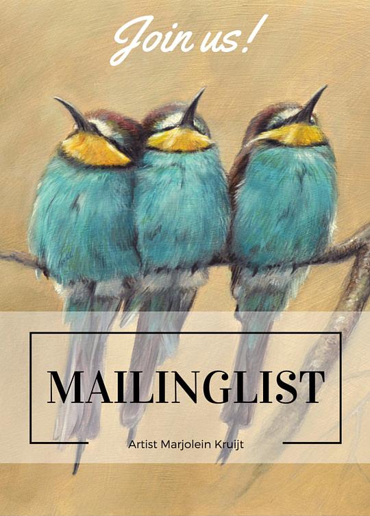 Mailinglist www.marjoleinkruijt.com
