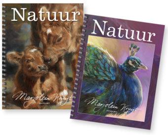 de Marjolein Kruijt Natuur Agenda 2017 - dieren in de kunst