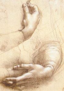 Da vinci Handen - leer de tekentechnieken van de oude meesters