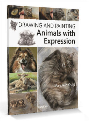 BOEK drawing and painting animals with expression - door Marjolein Kruijt