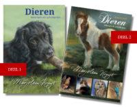 Boeken dieren tekenen en schilderen door Marjolein Kruijt deel 1 en 2