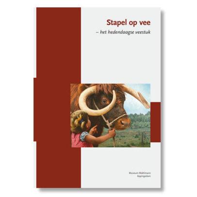 Boek stapel op vee -Museum Mohlmann expositie 2017