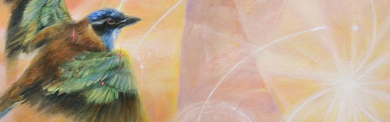Dieren symboliek ~ spirituele schilderijen Marjolein Kruijt