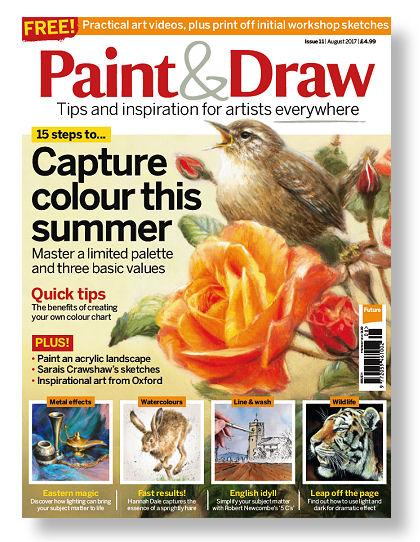 Paint & Draw magazine - Marjolein Kruijt