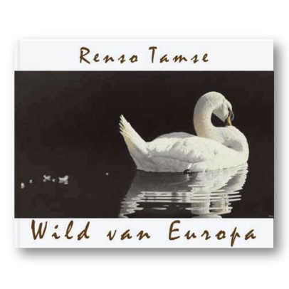 Boek Wild van Europa - wildlife kunst aquarellen Renso Tamse
