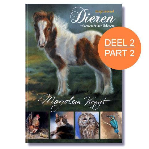 boek inspirerend dieren tekenen en schilderen (inspirerend) -deel2-Marjolein Kruijt