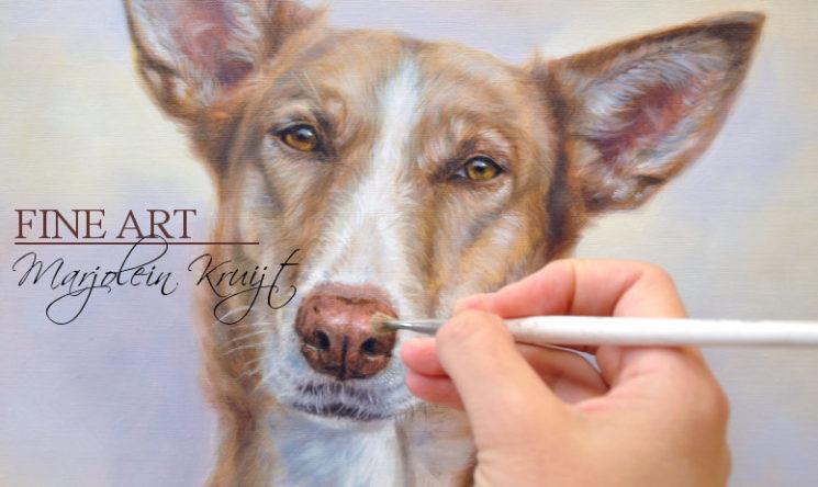 workshop dieren tekenen en schilderen Marjolein Kruijt 2018
