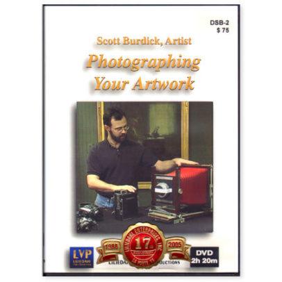 dvd scott-burdick-dvd-photographing-your-artwork