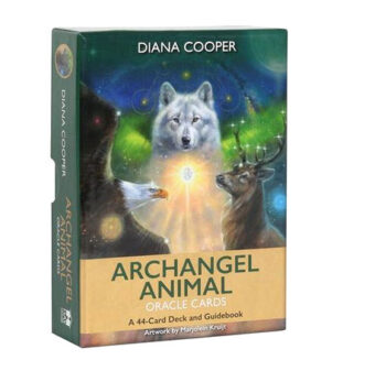 Archangel Animal Oracle Card deck - Diana Cooper & Marjolein Kruijt
