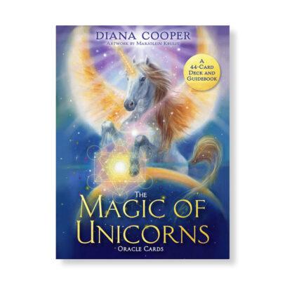 'The Magic of Unicorns Oracle cards' Orakelkaarten Marjolein Kruijt & Diana Cooper