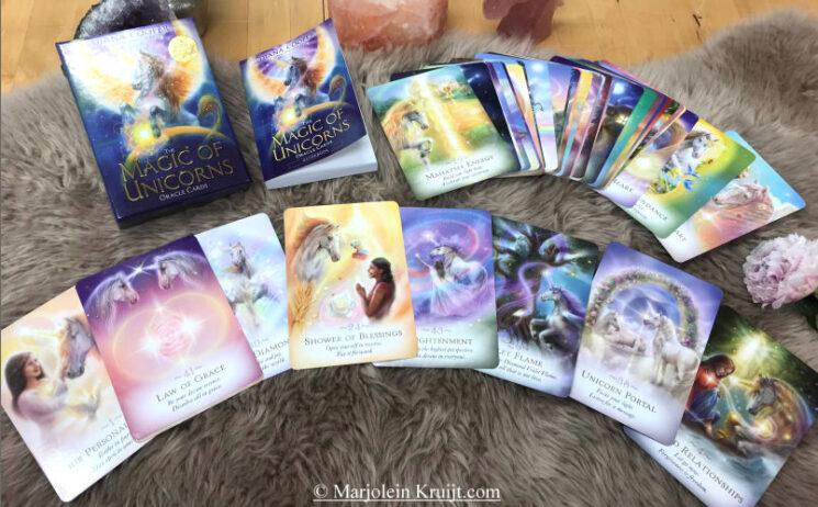 Eenhoorn orakelkaarten - Magic of the Unicorns Oracle deck